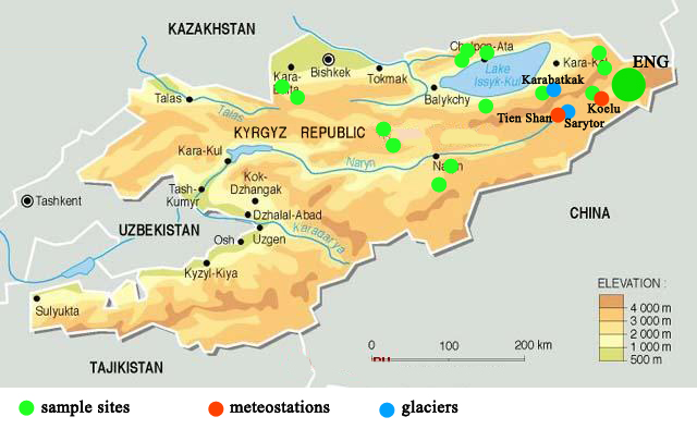 Tien Shan Mountains Map | www.imgkid.com - The Image Kid ...